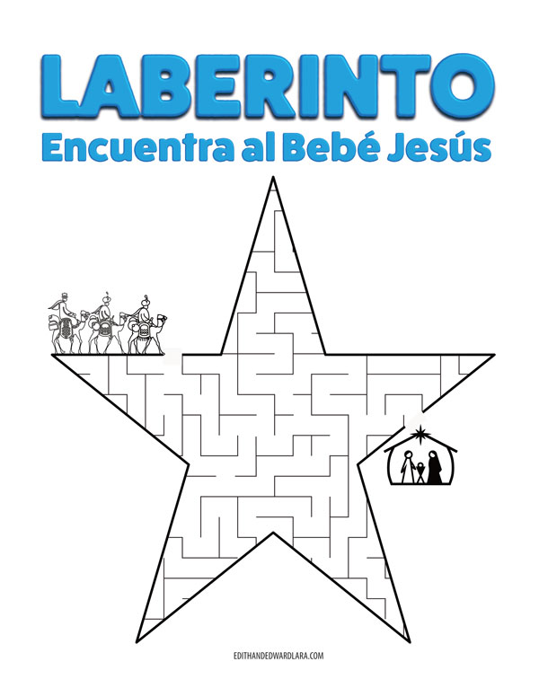 Laberinto - Encuentra al Bebé Jesús