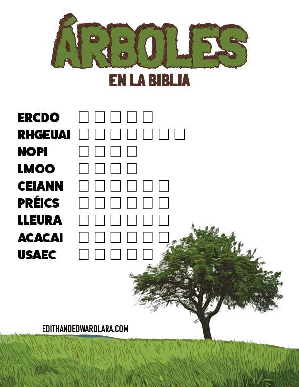 Letras Revueltas - Árboles en la Biblia